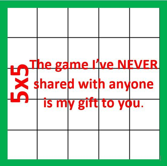 5x5 Most Amazing Just for Fun Game